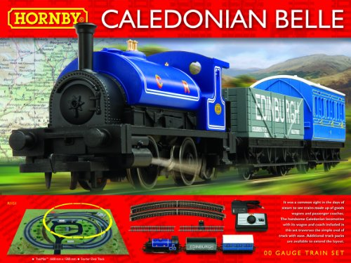 Hornby R1151 Caledonian Belle Train Set.