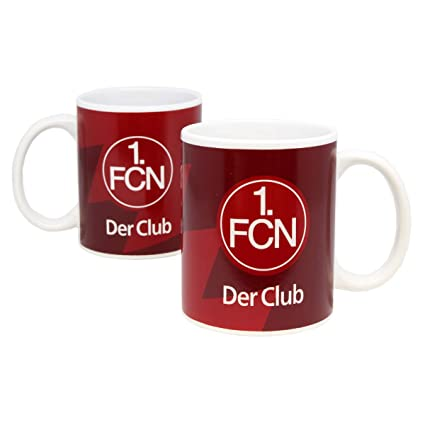 1 FC N/ürnberg Tasse Streifen