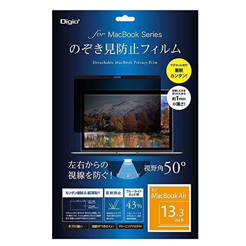 [해외]MacBook Air 13 인치 용 우는 방지 필름 자석 식 SF-MBA13FLGPV / MacBook Air 13 inch For Voyeur Proof Film Magnet SF-MBA13FLGPV