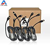 Auto Safety Car Video Extension Cable 5M 4pin Aviation Car Rearview Camera Extension Cable for Car Vehicle Backup Camera System 4 Pcs