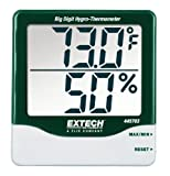 Extech Instruments 445703 Big Digit Hygro-Thermometer with Min/Max