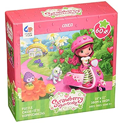Puzzle Ceaco Strawberry Shortcake On Vespa 60pc New 1667 1