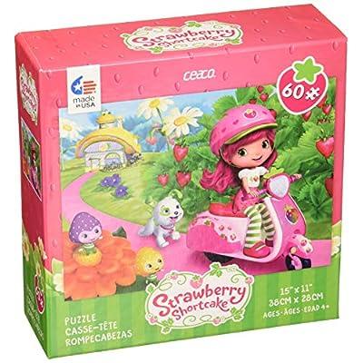Puzzle Ceaco Strawberry Shortcake On Vespa 60pc New 1667 1