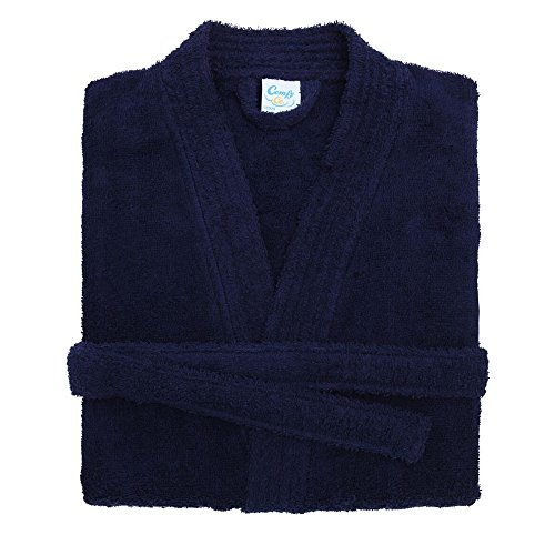 Comfy Co Childrens/Kids Robe (12/13 Years) (Navy) by Comfy Co