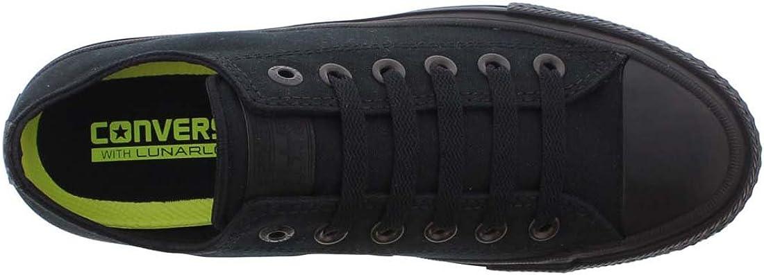Converse Chuck Taylor All Star K Textile Royal, Chaussures mixte enfant Noir Ox Black