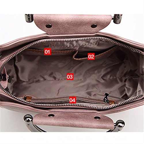FangYOU1314 Large Bag Simple Bag Capacity Pink Light Atmosphere blue Messenger Hand Wild Color Shoulder rqnUwZrF