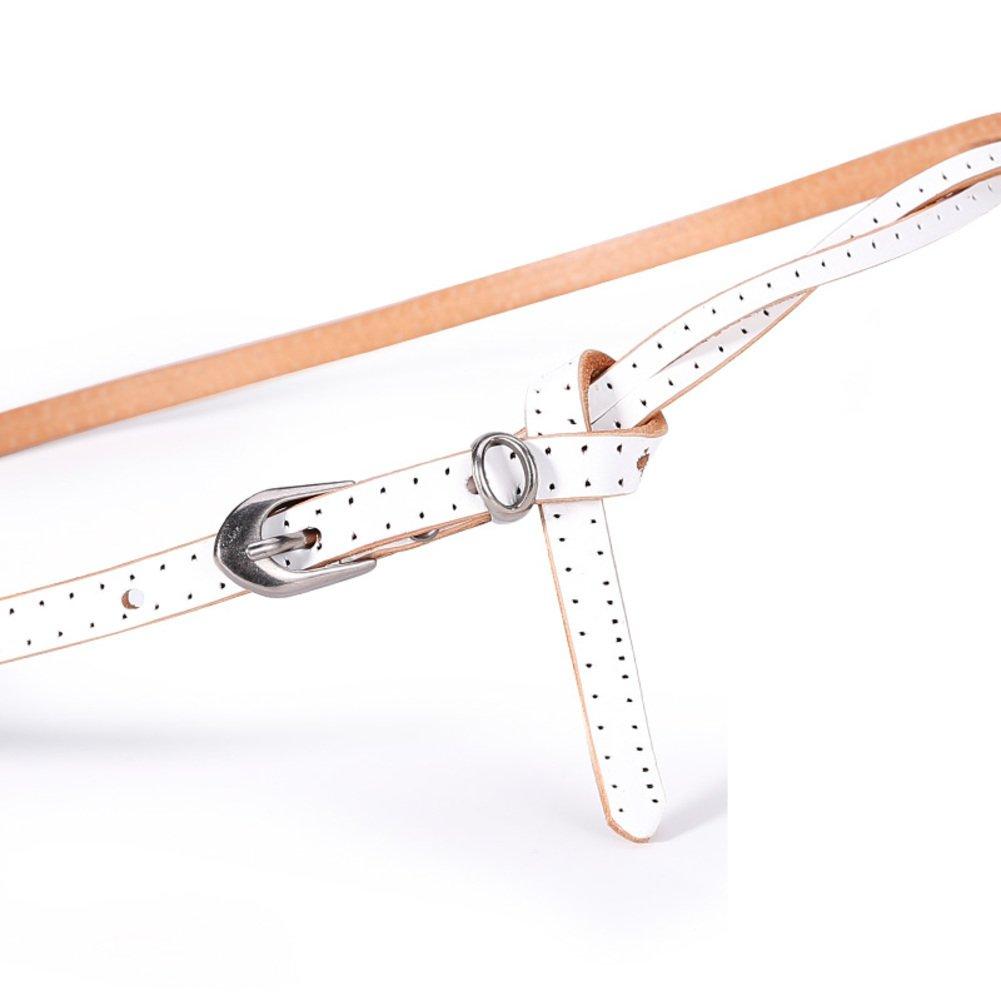 New Mens Fashion Automatic Buckle Leather Luxury Man cinturones hombre Black white Belt Alloy buckle White belt for Men,15,110cm