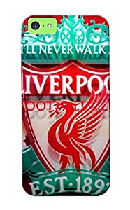 New Liverpool Football Club Tpu Case Cover, Anti-scratch Catenaryoi Phone Case For Iphone 5c wangjiang maoyi