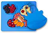 Kenley Feeding Silicone Placemat Suction Plate for Toddlers - Highchair ...