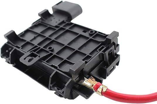 jetta battery fuse box amazon com kkmoon fuse box battery terminal 1j0937550a 1j0937550b  kkmoon fuse box battery terminal