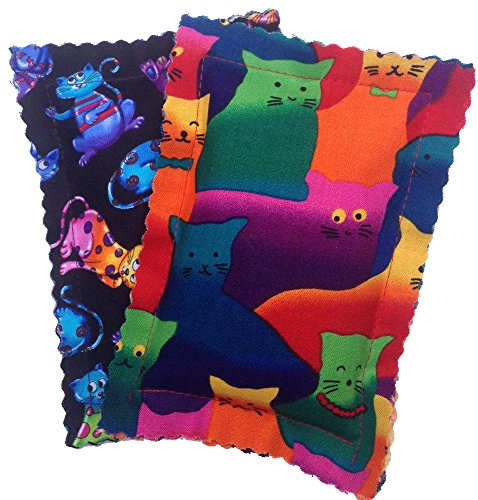 Catnip Pillows Two Pack Crazy Cat