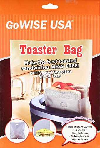 Pack Non Stick Reusable Toaster Bags