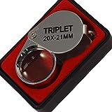 BlueDot Trading 20x Magnification Jewelers Loupe