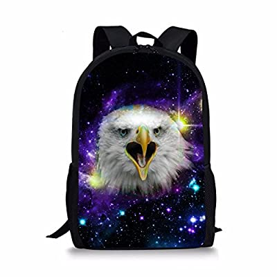 Coloranimal Cool 3D Animal Backpacks for Boys Children Galaxy Bookbags hot sale