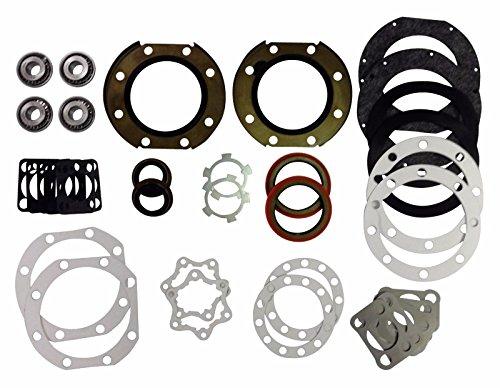 Cores West Toyota Solid Axle Knuckle Rebuild Kit, Mini-truck and 4runner, Disc. FJ40, FJ60, (Toyota Mini Trucks)
