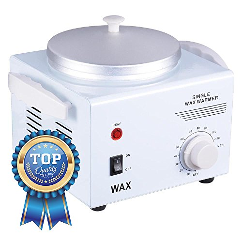 - Koval Inc. Deluxe Professional Single Hair Wax Warmer, Electric Wax Heater Machine (White 9