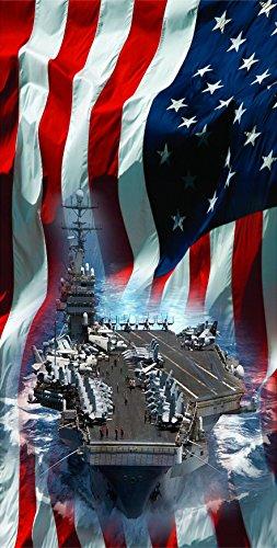 US Navy Ship Cornhole Decal Wrap Set 3M Laminated Vinyl Prints