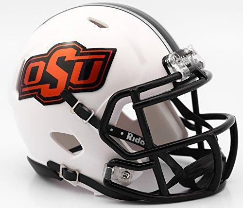 Oklahoma State Football - Riddell OKLAHOMA STATE COWBOYS NCAA Revolution SPEED Mini Football Helmet
