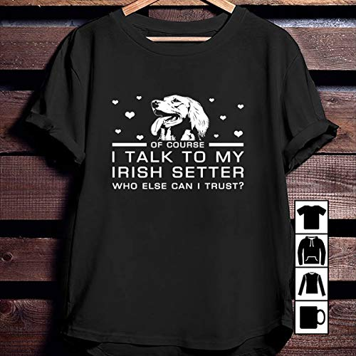 Setter Youth Sweatshirt - Funny Irish I talk yo my Irish Setter T Shirt Long Sleeve Sweatshirt Hoodie Youth