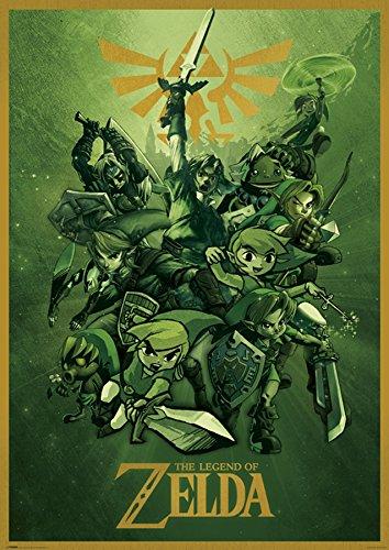 The Legend Of Zelda Links Giant Poster Print