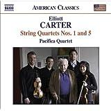 Carter: String Quartets Nos. 1 & 5
