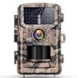 Campark Trail Game Camera 12MP 1080P Waterproof Wildlife Hunting Deer Scouting Cam Motion Activated Infrared Night Vision Home Surveillance