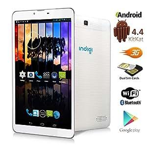 indigi 7 android 4 4 kk tablet pc w sim. Black Bedroom Furniture Sets. Home Design Ideas