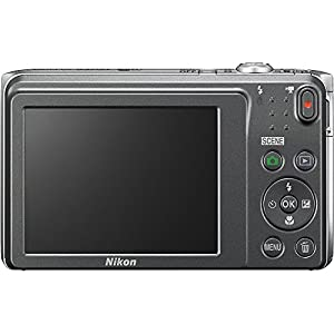 Nikon COOLPIX S3700 20.1 MP Wi-Fi Digital Camera with 8X Optical Zoom and 720P Video (Silver) from Nikon