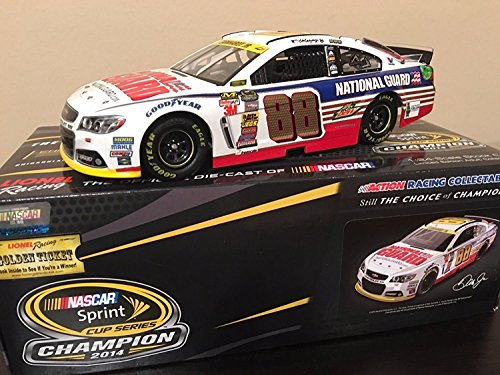Lionel Racing Dale Earnhardt Junior #88 National Guard Chase for the Cup 2014 Chevy SS NASCAR ARC HOTO Die Cast Car (1:24 Scale)