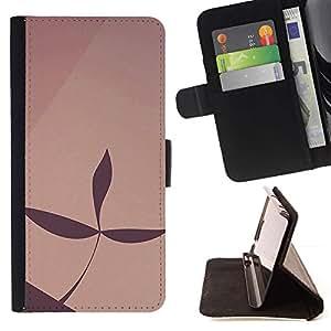 Momo Phone Case / Flip Funda de Cuero Case Cover - Simple patrón de 22 - HTC Desire 820