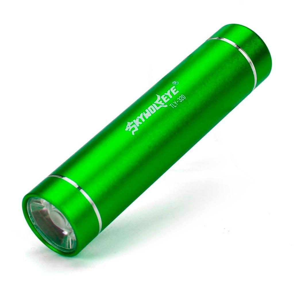 Linterna LED, Xinan Mini 1000LM Alta Potencia Antorcha Cree Q5 LED Linterna Táctica Verde Xinantime Xinantime_3439