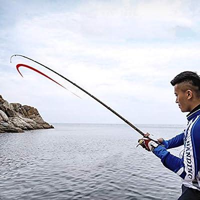 LIOOBO 3.0 Metros Universal Spinning Rod Fibra de Carbono caña de Pescar Pesca telescópica Marcha caña de Pescar Ultrashort Aparejos de Pesca: Amazon.es: Hogar