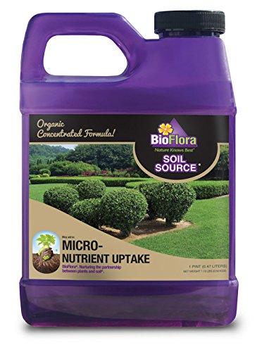 BioFlora R4520P Soil Source, Biologically Enhanced Humic Acid Soil Restorer, Liquid Concentrate, Pint