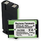 Panasonic KX-TG2357 Cordless Phone Battery 3.6 Volt, Ni-MH 850mAh - Replacement For PANASONIC HHR-P104