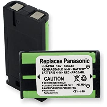 amazon com panasonic kx tga549s cordless phone battery ni mh 3 6 rh amazon com