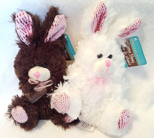 Easter Brown Bunny (Chocolate-Scent Festive Easter Bunnies - Brown and White 7