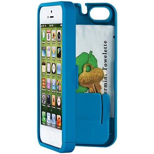 EYN (Everything You Need) Smartphone Case for iPhone 5/5s - Turquoise (eynpurple5) (Iphone 5 Storage Case compare prices)