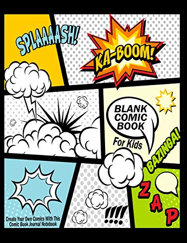 Pdf Science Blank Comic Book For Kids : Create Your Own Comics With This Comic Book Journal Notebook: Over 100 Pages Large Big 8.5' x 11' Cartoon / Comic Book With Lots of Templates (Blank Comic Books)