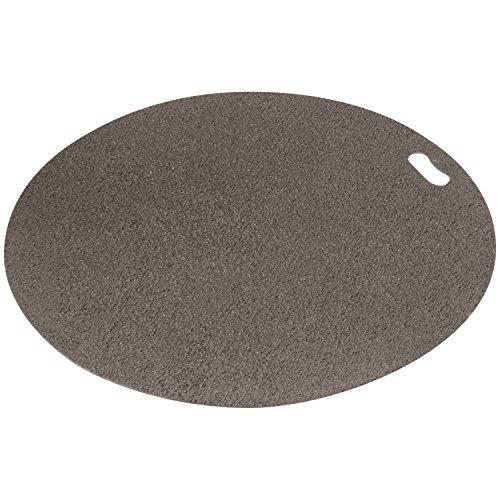 The Original Grill Pad Gray Grill Pad, Round