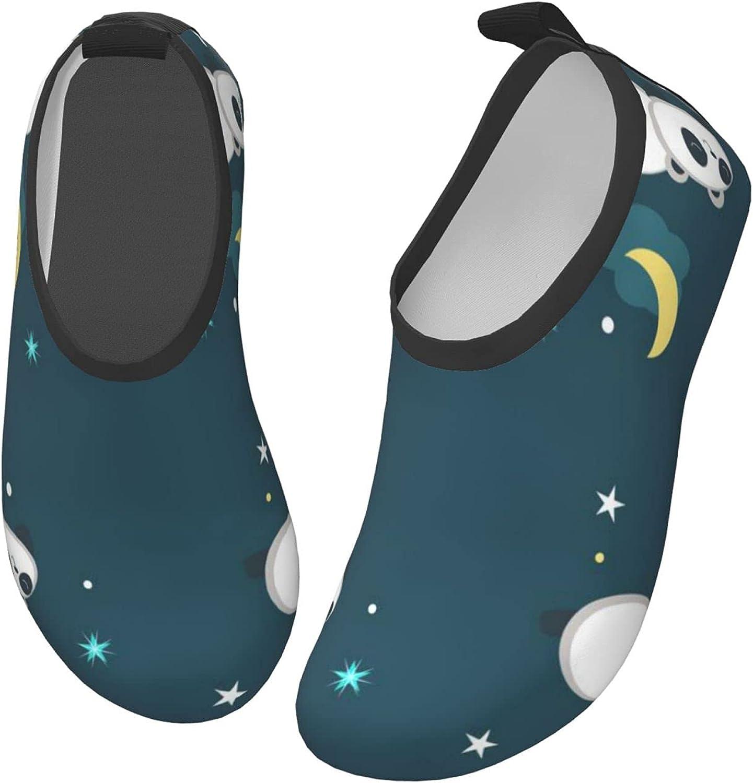 Zhung Ree Kids Water Shoes Cute Panda Barefoot Aqua Socks Shoes Quick Dry Non-Slip Baby Boys & Girls