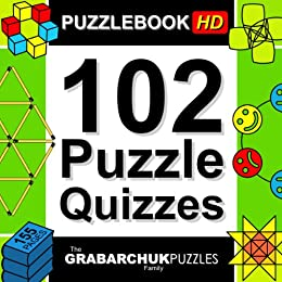102 Puzzle Quizzes HD (Interactive Puzzlebook for Tablets) by [The Grabarchuk Family]