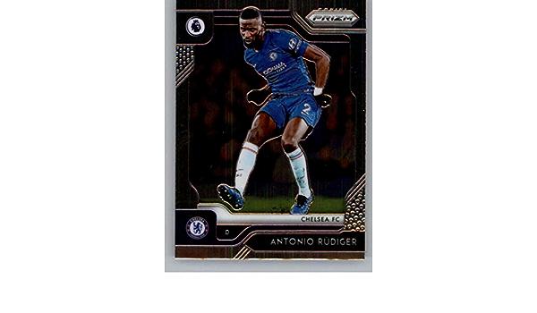 EPL 2019-20 Prizm English Premier League Soccer #18 Antonio Rudiger Chelsea FC Official Futbol Card From Panini America