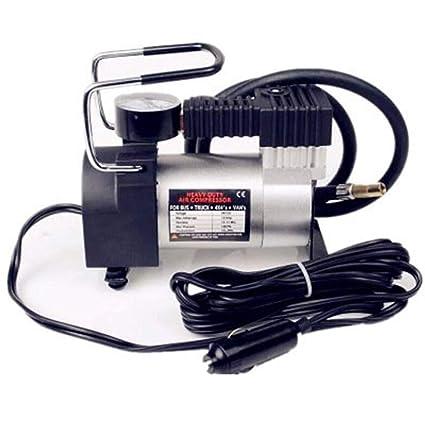 XDLUK Neumático Inflador Neumático Bomba De Compresor De Aire-12V DC, Premium Portable Inflador