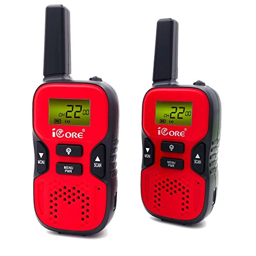 iCore Walkie Talkies for Kids,Long Range 2 Way Radios ,22 Ch