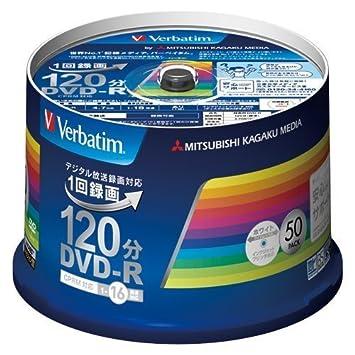 Verbatim Mitsubishi para grabación DVD-R Digital Broadcast 1 ...
