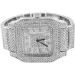 Mens Joe Rodeo Watch Custom Simulated Diamonds Jojo Look Analog Brand New
