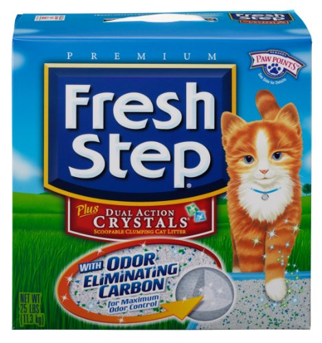 Fresh Step Scoopable Crystals 25 Pound product image