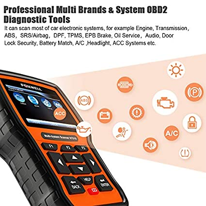 NT510 for VOLVO XC60 DIAGNOSTIC SCANNER OBD2 CAR SCAN TOOL CODE READER ABS