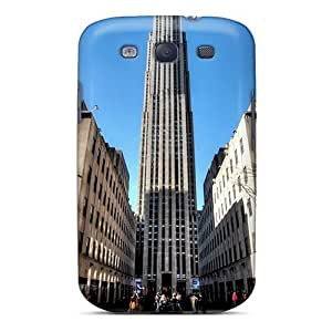 Special DGENDS Skin Case Cover For Galaxy S3, Popular Building Phone Case