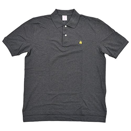- Brooks Brothers Golden Fleece Original Fit Performance Polo Shirt (L, Charcoal)